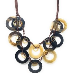Jewelry - Handmade buffalo horn necklace